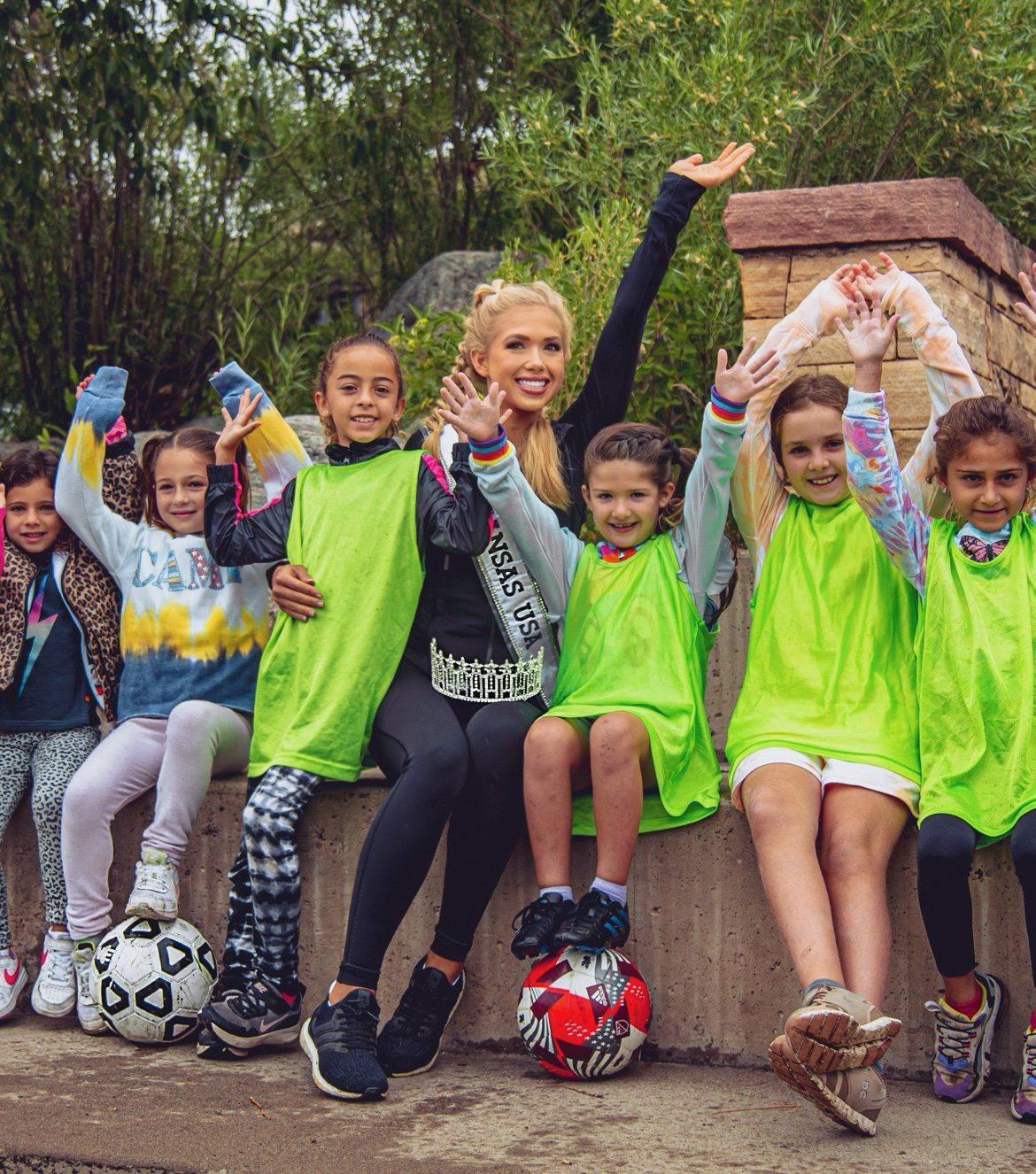 Gracie Hunt-European Soccer Camp