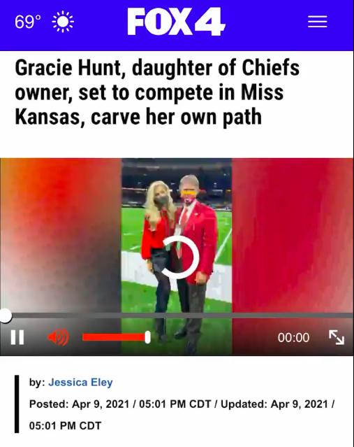 Gracie Hunt Fox 4 Interview